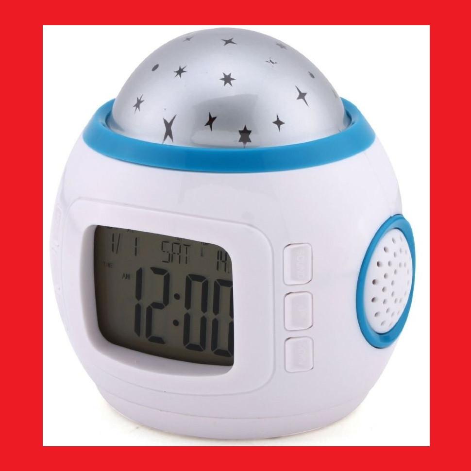 Годинник з будильником і проектором зоряного неба 1038