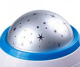 Годинник з будильником і проектором зоряного неба 1038, фото 5