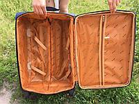 Тканевый Чемодан на 4 колеса средний 60x40x30 My travel, фото 4