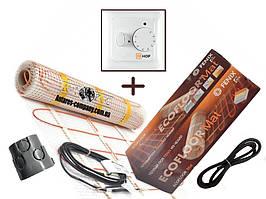 Нагревательный мат Fenix LDTS 12210-165 ( 1.3 м2)   с  терморегулятором HOF 320 ) Премиум ( Р )