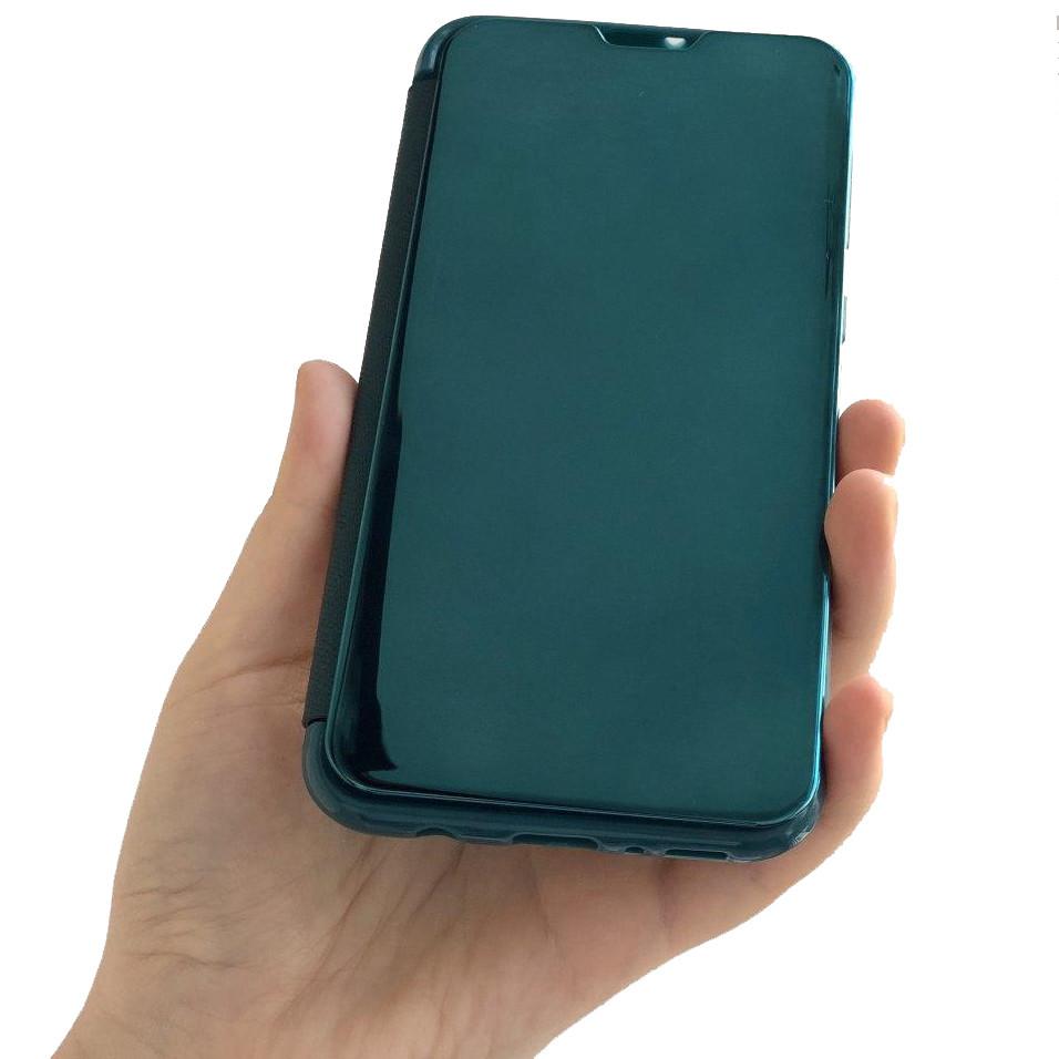 Чехол-книжка Clear View TPU Cover для Xiaomi Redmi Note 8 Pro