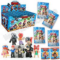 Набор фигурок старс с карточкой в пакете - 8 разных героев, коллекционные фигурки из игры Stars, фото 1