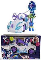 Кукла Диджей и автомобиль My Little Pony Equestria Girls