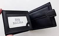 Мужское портмоне с искусственной кожи Balisa W52-209 черный Купить портмоне оптом недорого Одесса 7 км, фото 4