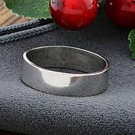 Серебряное Обручальное кольцо Американка вес 3.12 г размер 22