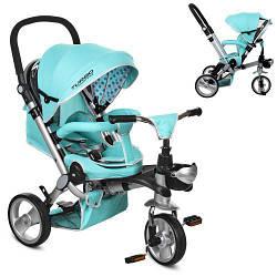 Велосипед детский трехколесный Turbotrike M AL3645-14 цвет мята