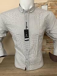Рубашка Fiorenzo с воротником-стойка