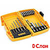 Набор бит и свёрл  DEWALT DT7921,19 шт, Ph2, Pz2, L= 50 мм, по металлу, EXT, Philips, Pozidriv, Slotted
