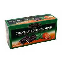 Шоколадные конфеты с мятой Chocolate Mints Orange, 200г