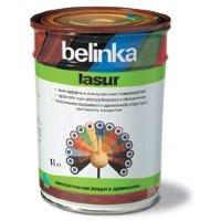 Belinka Lasur (Белинка лазурь) 1 литр,  Бесцветная №12  лак-пропитка с  абсорбентами для защиты древесины