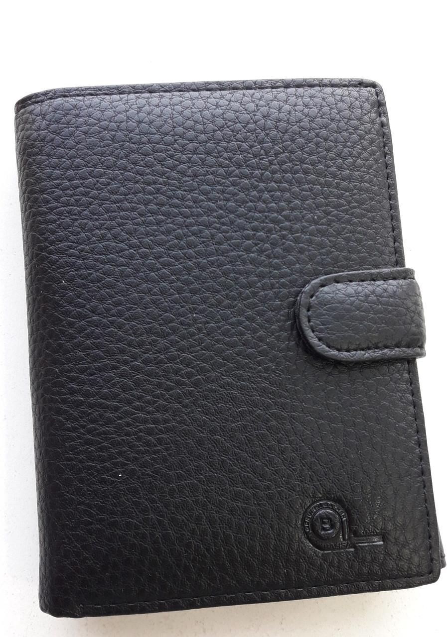 Мужское портмоне с искусственной кожи Balisa W53-302 черный Купить портмоне оптом недорого Одесса 7 км