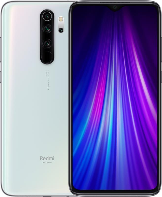 "Смартфон Xiaomi Redmi Note 8 Pro 6/64GB Dual Sim Pearl White EU_; 6.53"" (2340х1080) IPS / MediaTek Helio G90T / ОЗУ 6 ГБ / 64 ГБ встроенной + microSD"