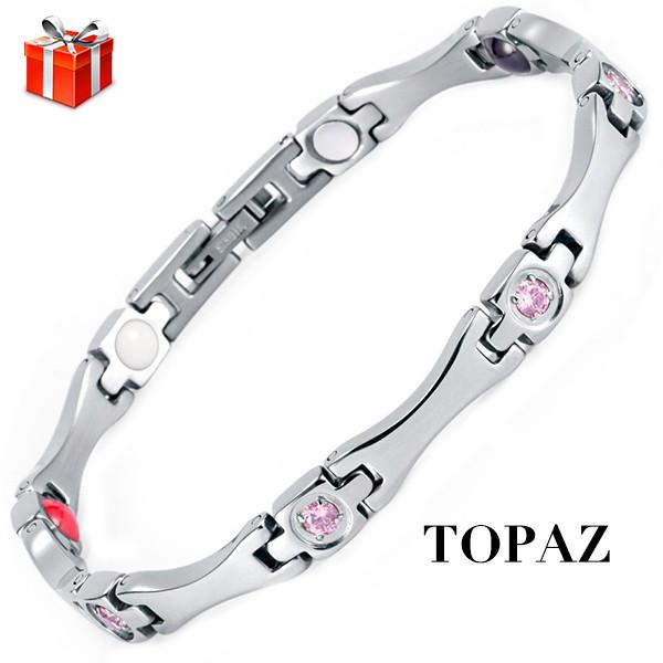 Магнитный браслет Топаз