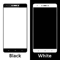 Защитное стекло для Xiaomi Redmi Note 4x Ксиоми Сяоми Ноут клеится по всей поверхности Full Glue белое