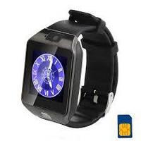 Bluetooth часы - телефон Smart Watch DZ09/ сенсорный экран/ слот для симкарты