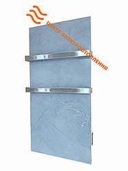 Керамический полотенцесушитель Flyme 600T с двумя ручками (цвет серый мрамор)