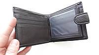 Мужское портмоне с искусственной кожи Balisa W53-208-2 коричневый Купить портмоне оптом недорого Одесса 7 км, фото 5