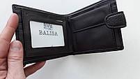 Чоловіче портмоне з штучної шкіри Balisa W53-208-2 коричневий Купити портмоне оптом недорого Одеса 7 км, фото 6
