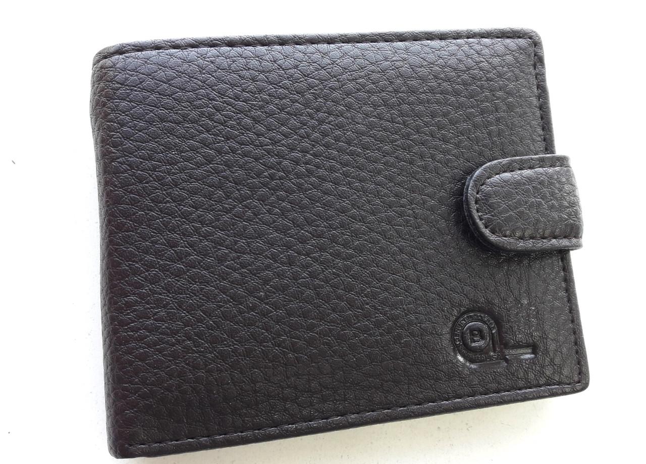 Чоловіче портмоне з штучної шкіри Balisa W53-208-2 коричневий Купити портмоне оптом недорого Одеса 7 км