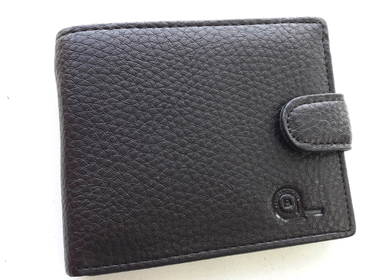Мужское портмоне с искусственной кожи Balisa W53-208-2 коричневый Купить портмоне оптом недорого Одесса 7 км