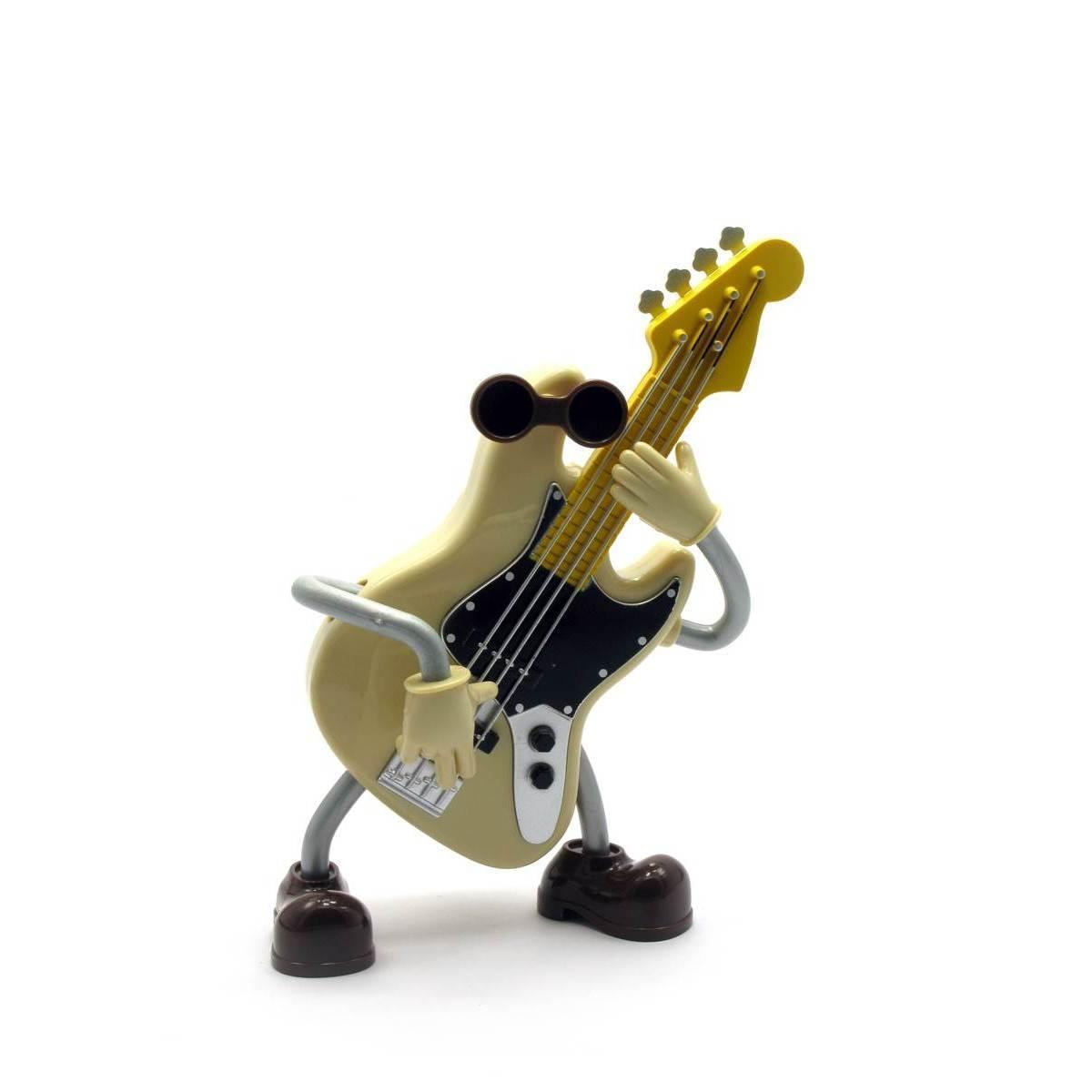 Игрушка музыкальная гитара Заводится ключом,при игре танцует 18х13х6 см 27975