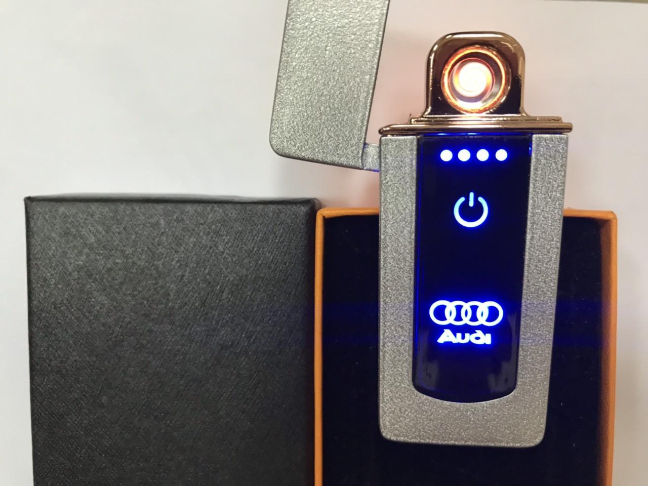 Сенсорная USB Lighter зажигалка мощная «Audi» B13