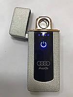 Сенсорная USB Lighter зажигалка мощная «Audi» B13, фото 2