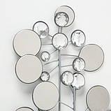 Настенный декор Рубин серебро 95*43см 6272800, фото 2