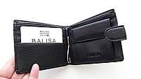 Чоловіче портмоне з штучної шкіри Balisa W56-300 чорний Купити портмоне оптом недорого Одеса 7 км, фото 3
