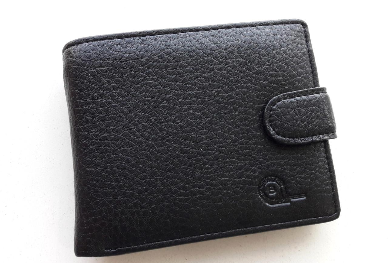 Чоловіче портмоне з штучної шкіри Balisa W56-300 чорний Купити портмоне оптом недорого Одеса 7 км