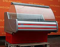 Низкотемпературная витрина (морозильная) «Технохолод ВХН Невада» 1.3 м. (Украина), очень широкая выкладка, Б/у