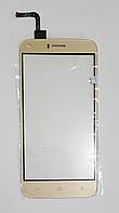 Сенсор (тачскрин) дляUMI London, Bravis A506, S-Tell M621, Kiano Elegance 5.1,  золотой