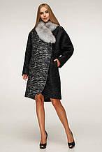 Женское Пальто П-1212 н/м Сashimire Тон 4 Favoritti