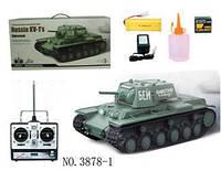 Танк р/у 1:16 Heng Long КВ-1 с пневмопушкой и дымом HL3878-1 (HL3878-1)