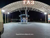 Зачистка и дегазация газовых резервуаров