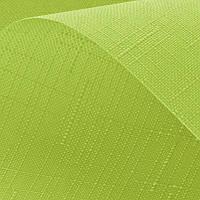 Рулонные шторы Len. Тканевые ролеты Лен Зеленый 0873, 44.7