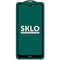 Защитное стекло SKLO 5D (full glue) для Xiaomi Redmi Note 8T, фото 1