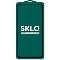 Защитное стекло SKLO 5D (full glue) для Samsung Galaxy A10 / A10s / M10, фото 1