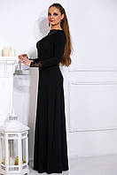 Длинное утонченное платье Бренди разные цвета