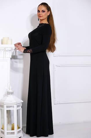 Длинное утонченное платье Бренди разные цвета, фото 2