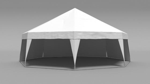 палатка с стенами
