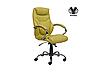 Кожаное кресло для руководителя -Тайгер (натуральная кожа, экокожа), фото 4