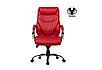 Кожаное кресло для руководителя -Тайгер (натуральная кожа, экокожа), фото 5