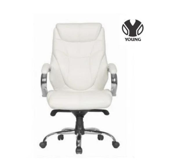 Кожаное кресло для руководителя -Тайгер (натуральная кожа, экокожа)