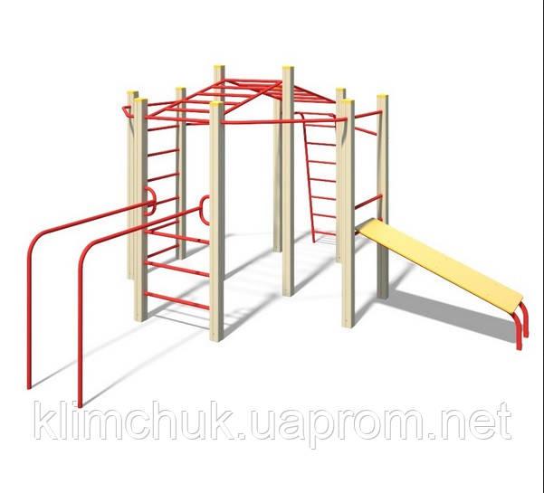"""Гімнастичний комплекс """"Юніор"""" для дитячих ігрових майданчиків KidSport"""