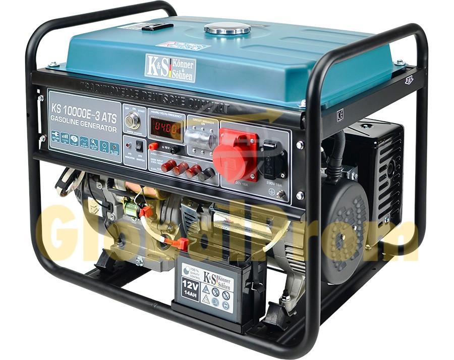 Бензиновый генератор Könner & Söhnen KS 10000E ATS-3