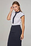 Женская блузка летняя безрукавка Lipar Белая