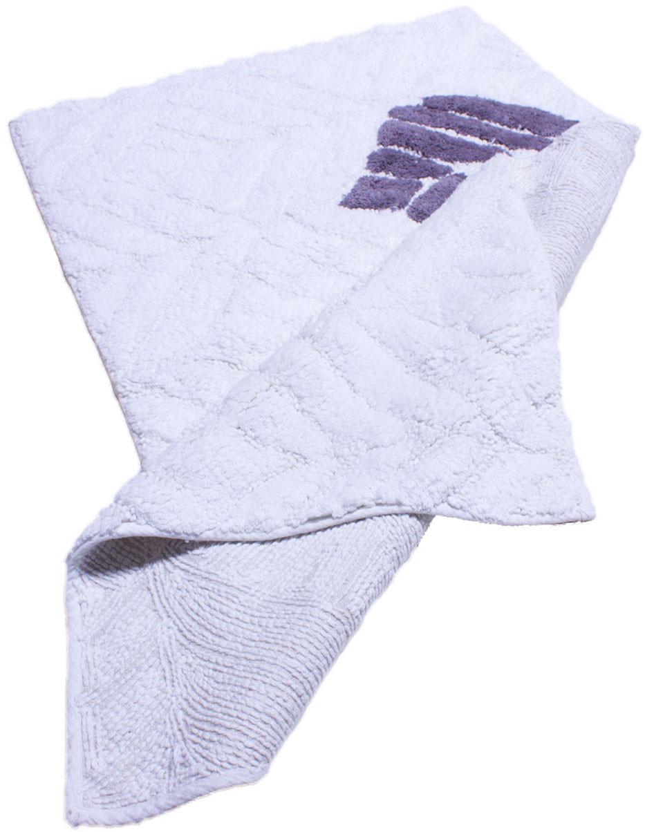 Коврик прямоугольник 5734 BANIO 0,5Х0,8, WHITE/GREY