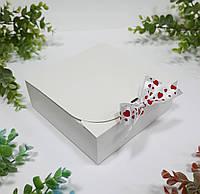 Коробка 170х170х60 мм біла