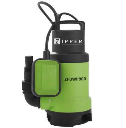Дренажный насос для грязной воды Zipper ZI-DWP900, фото 2
